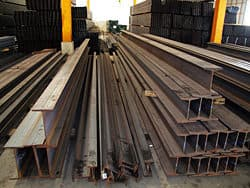 Steel Beams: I-Beam and Wide Flange Beam Fabrication